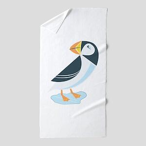 Puffin Beach Towel