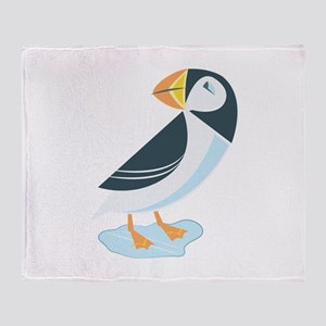 Puffin Throw Blanket