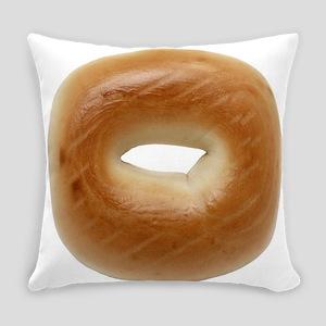 Bagel Everyday Pillow
