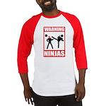 Warning: Ninjas Baseball Jersey