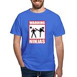 Warning: Ninjas Dark T-Shirt