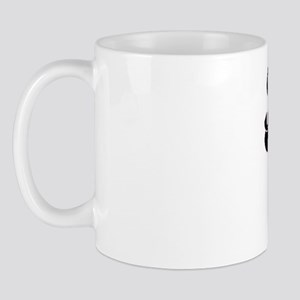 Khloe Classic Retro Name Design with Pa Mug