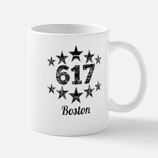 Vintage 617 Boston Mugs