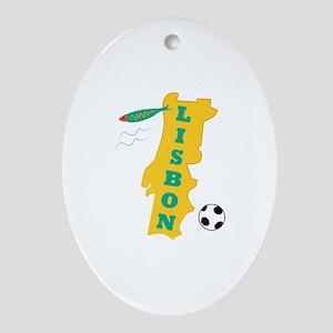 Lisbon Ornament (Oval)