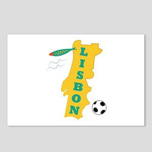 Lisbon Postcards (Package of 8)