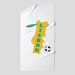 Lisbon Beach Towel