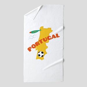 Portugal Beach Towel
