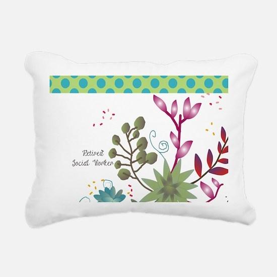 Retired Social Worker Rectangular Canvas Pillow