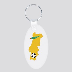 Portugal Map Keychains
