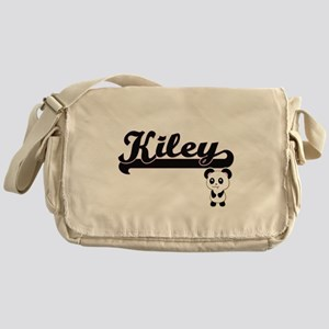 Kiley Classic Retro Name Design with Messenger Bag