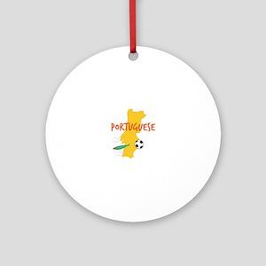 Portuguese Ornament (Round)