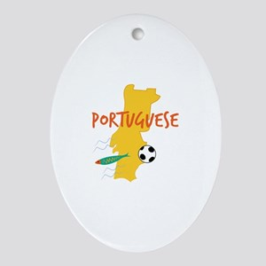 Portuguese Ornament (Oval)