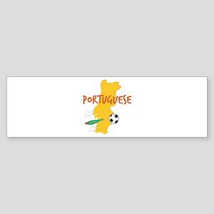 Portuguese Bumper Sticker