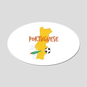 Portuguese Wall Sticker