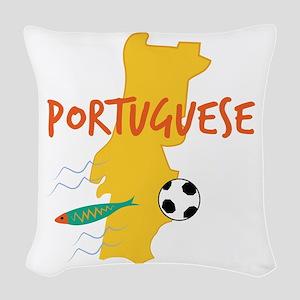 Portuguese Woven Throw Pillow