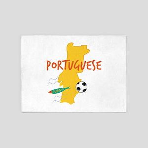 Portuguese 5'x7'Area Rug