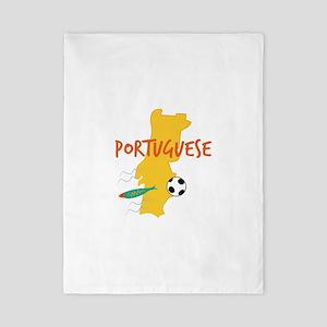Portuguese Twin Duvet