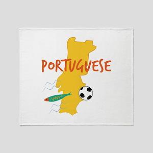 Portuguese Throw Blanket