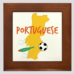 Portuguese Framed Tile