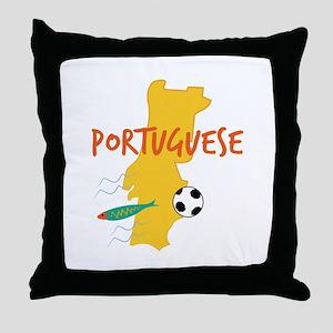 Portuguese Throw Pillow