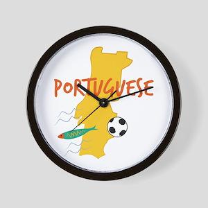 Portuguese Wall Clock