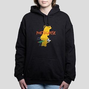 Portuguese Women's Hooded Sweatshirt
