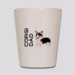 Corgi Dad Shot Glass