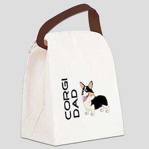 Corgi Dad Canvas Lunch Bag