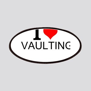 I Love Vaulting Patch