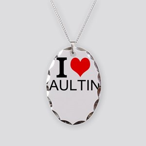 I Love Vaulting Necklace