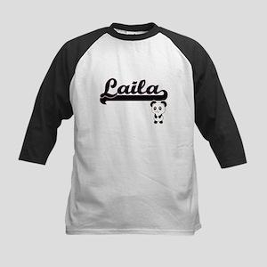 Laila Classic Retro Name Design wi Baseball Jersey