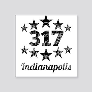Vintage 317 Indianapolis Sticker