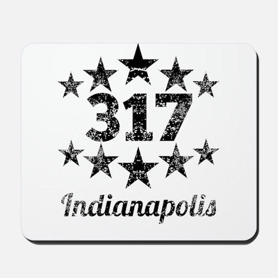 Vintage 317 Indianapolis Mousepad