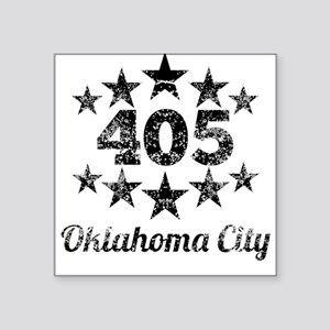 Vintage 405 Oklahoma City Sticker