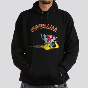Futurama Hover Scooter Hoodie (dark)