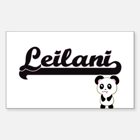 Leilani Classic Retro Name Design with Pan Decal