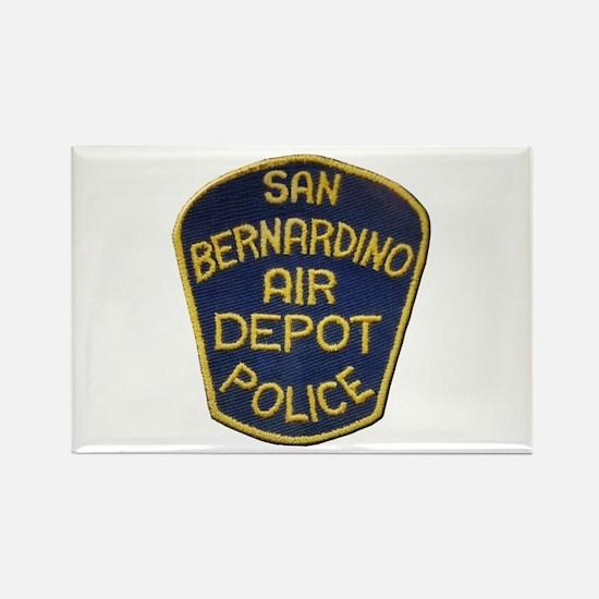 San Bernardino Air Depot Police Magnets