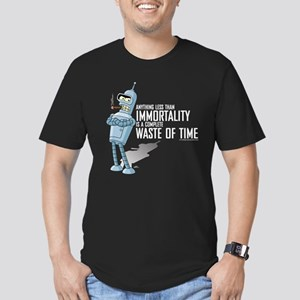 Bender Immortality Men's Fitted T-Shirt (dark)