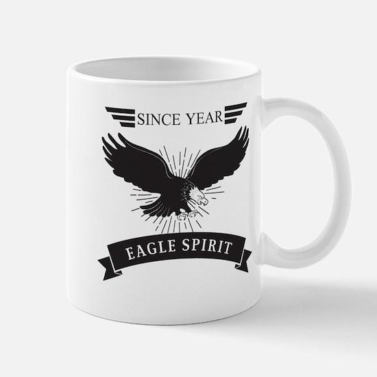Personalized Birthday Eagle Spirit Mug