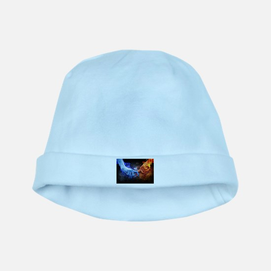 Fire and Ice baby hat
