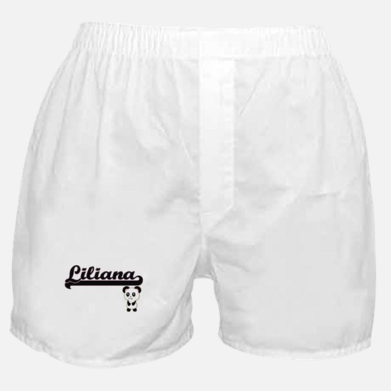 Liliana Classic Retro Name Design wit Boxer Shorts