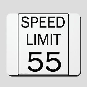 Speed Limit-55JPG Mousepad