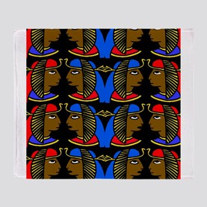 African history Throw Blanket
