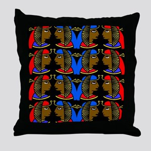 African history Throw Pillow