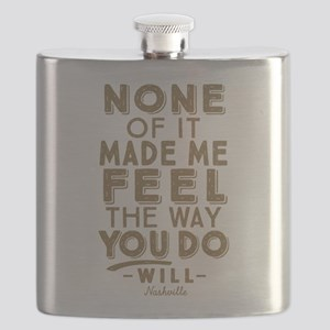 Feel The Way You Do Nashville Flask