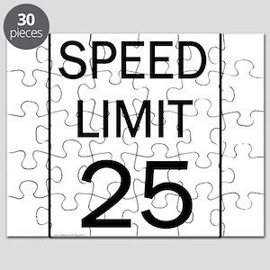 Speed Limit-25JPG Puzzle