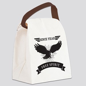 Personalized Birthday Eagle Spiri Canvas Lunch Bag
