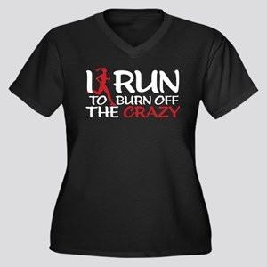 I RUN CRAZY Plus Size T-Shirt