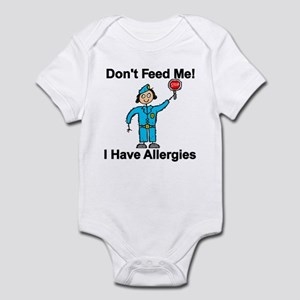 Don't Feed Me Infant Bodysuit