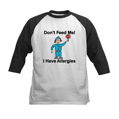 Don't Feed Me Kids Baseball Jersey